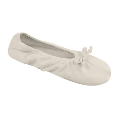 Muk Luks Stretch Satin Ballerina Slipper