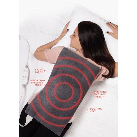 Calming Heat™ Massaging Heating Pad