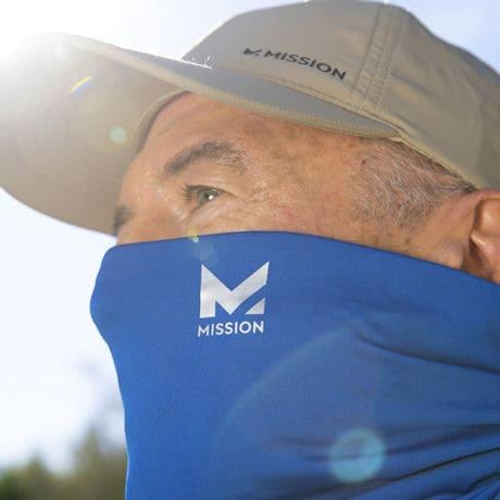 Mission Cooling Neck Gaiter Face Mask