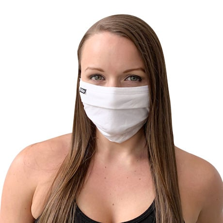 Reusable Cotton Pleated Face Mask