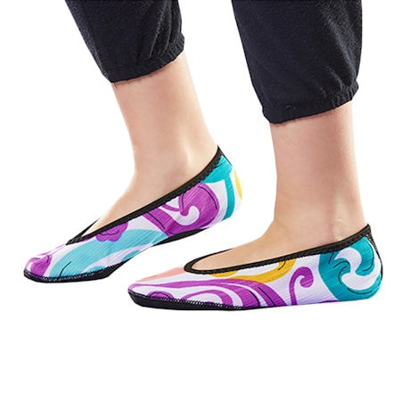 Nufoot Fuzzie Ballet Flats