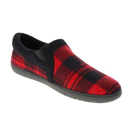 Foamtreads® Jacob Men's Buffalo Plaid Slippers