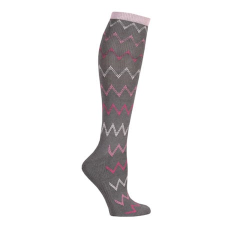 Women's Bamboo Moderate Compression Knee High Socks