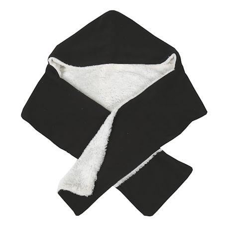 Hooded Fleece Scarf