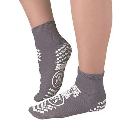 Unisex Skid Resistant Mini Crew Safety Socks