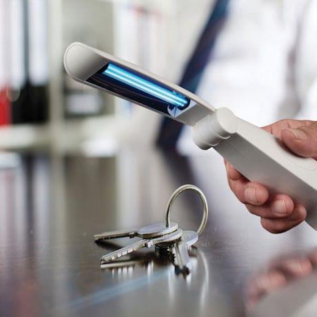 Disinfecting UV Scanner
