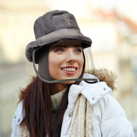 Winter Hat with Face Shield
