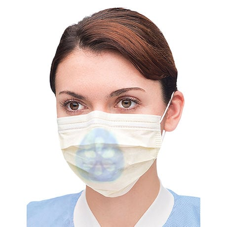 3D Face Mask Supports