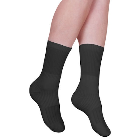 Soxies Unisex Targeted Compression Ankle Support Crew Length Socks