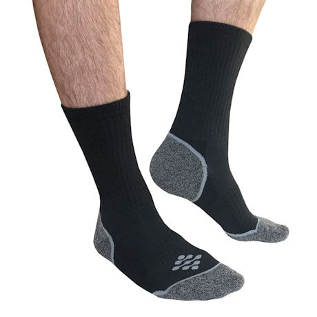 TrueEnergy® Unisex Mild Compression No Show, Crew Length or Knee High Socks