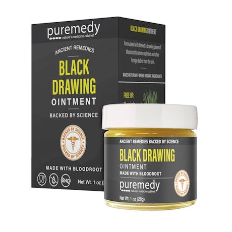 Puremedy Black Drawing  Ointment Herbal Salve - 1 oz.