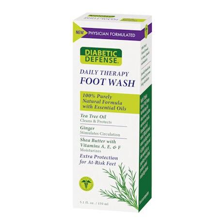 Diabetic Defense® Foot Moisturizer & Foot Wash
