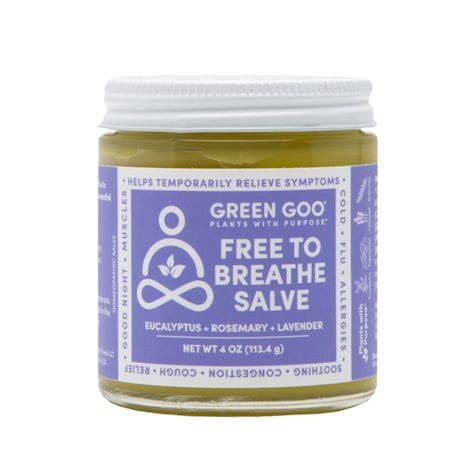 Green Goo® Free to Breathe Sinus Congestion Salve