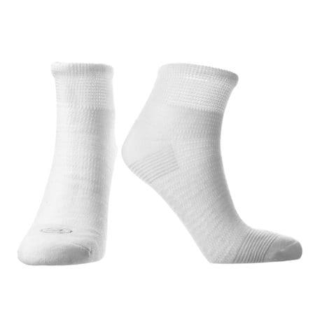 Doctor's Choice® Unisex Diabetic & Neuropathy No Show, Quarter Crew, Crew Length Socks