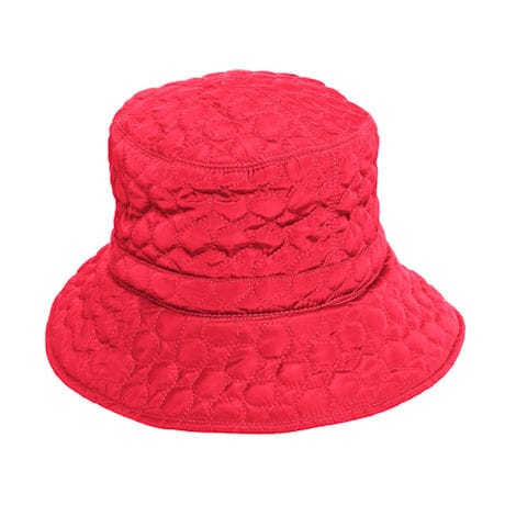 Quilted Rain Hat