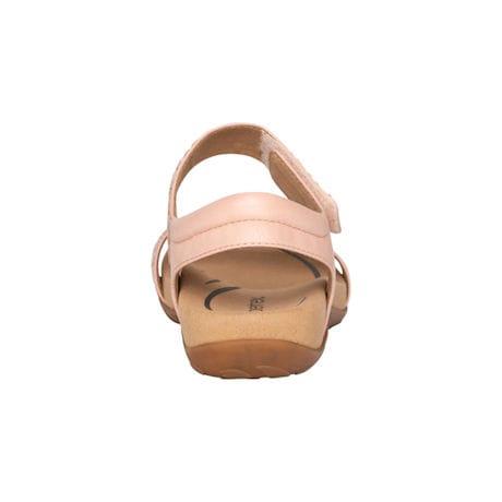 Aetrex®  Marcy Adjustable Quarter Strap Sandal