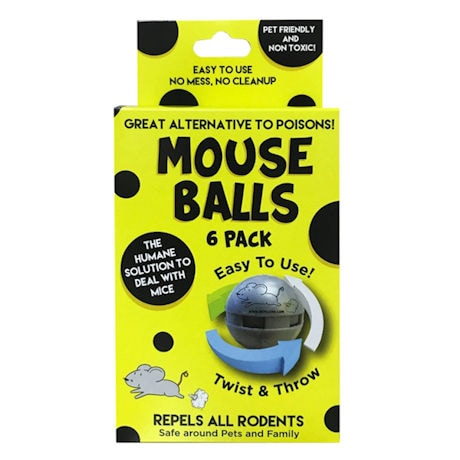 Mouse Repellent Balls - 3 pack