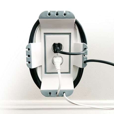 Cable Wall Outlet Organizer
