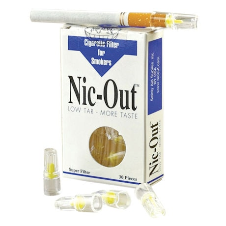 Nic-Out™ Cigarette Filters