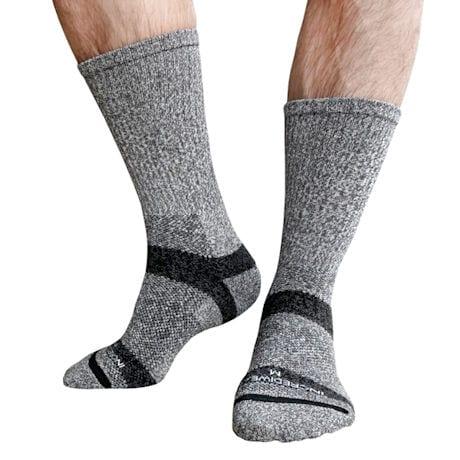 Incrediwear® Unisex for Circulation & Swelling Crew Length Trek Socks