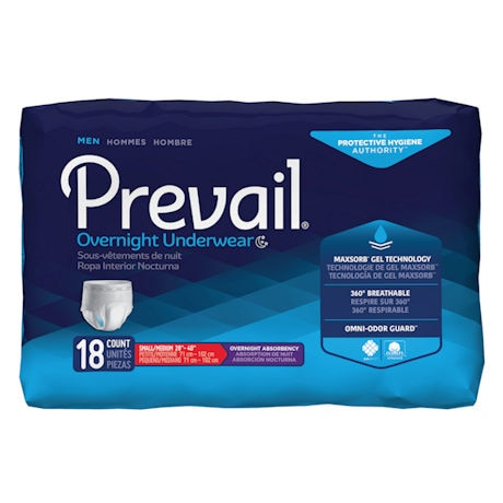 Prevail® Men's Overnight Protective Underwear
