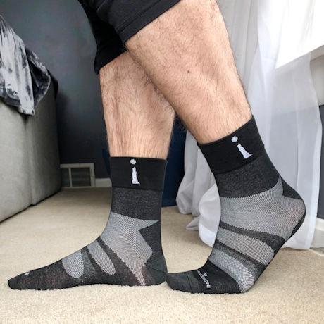 Incrediwear® Unisex Sport Socks - Crew/Quarter Crew/No Show