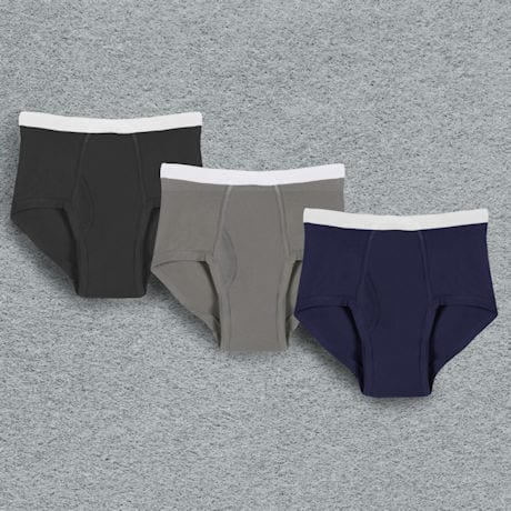 Men's Incontinence Underwear - Multi - Grey/Navy/Black - 3 Pack