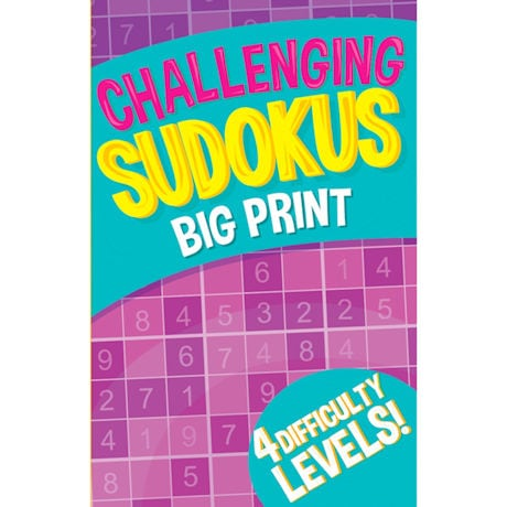 Large Print Find-A-Word and Sudoku's - 2 Pack