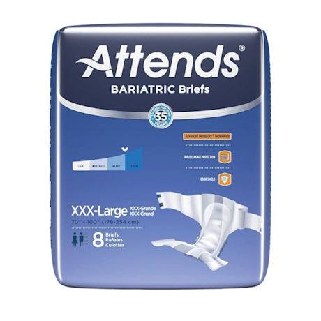 Attends® Bariatric Briefs