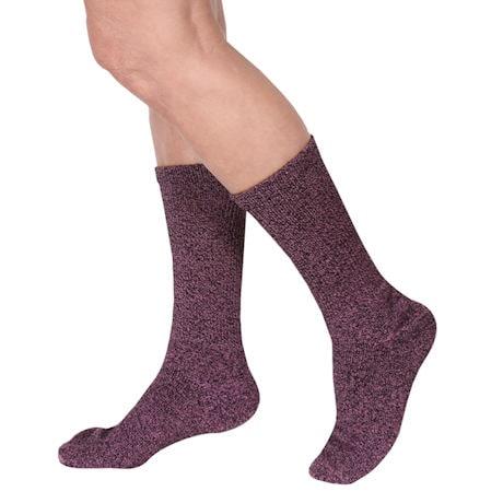 Unisex Cozy Diabetic Crew Length Socks
