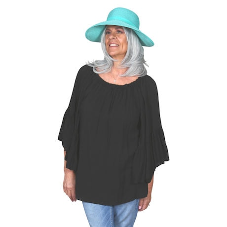 Paper Braid Face Saver Hat