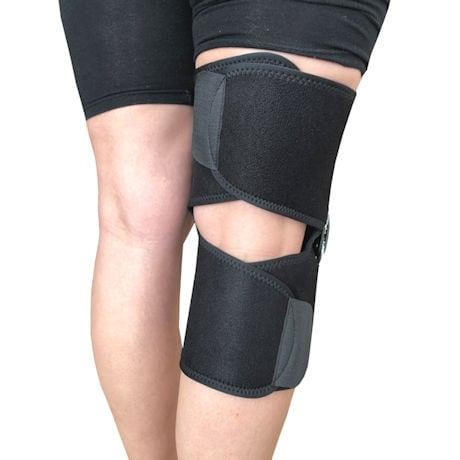Crisscross Hinged Knee Stabilizer