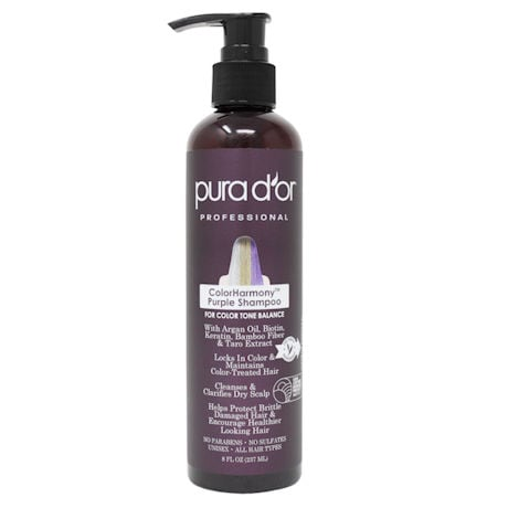 Pura D'Or Color Harmony™ Purple Shampoo or Conditioner