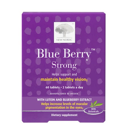 Blueberry Strong Vision Tablets