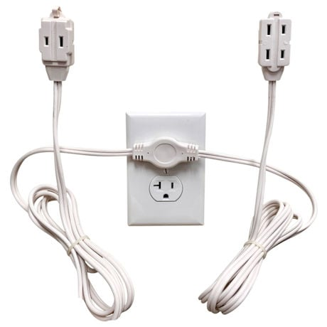 Twin Head Extension Cord