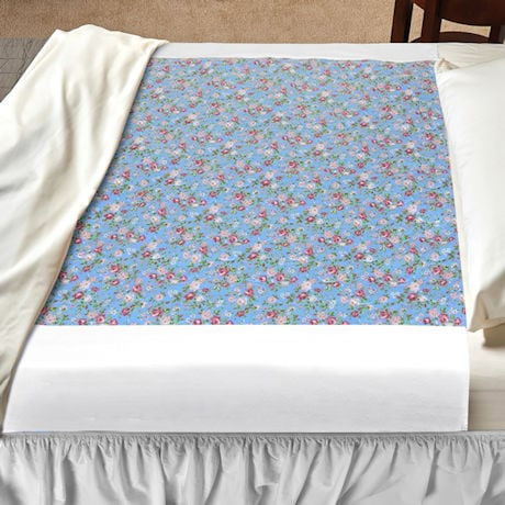 """Deluxe Floral Bed Pads - 34"""" x 36"""" with 20"""" tucktails each side"""