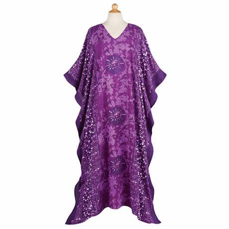 Batik Print Caftan