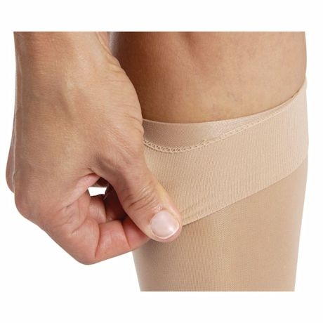 Jobst® Womens Ultrasheer Closed Toe Petite Height Firm Compression Knee High Stockings