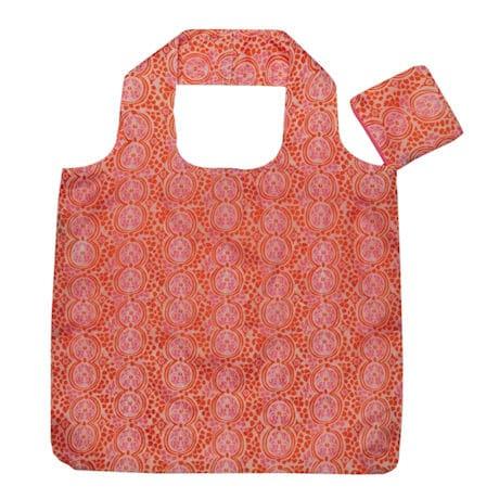 Go-Blue Reusable Bags Pink/Orange Set