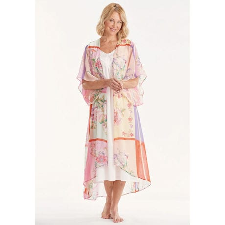 Spring Pastel Long Duster