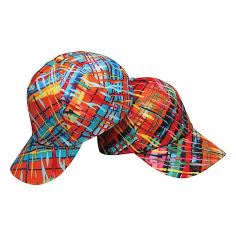 Playful Plaid Cap