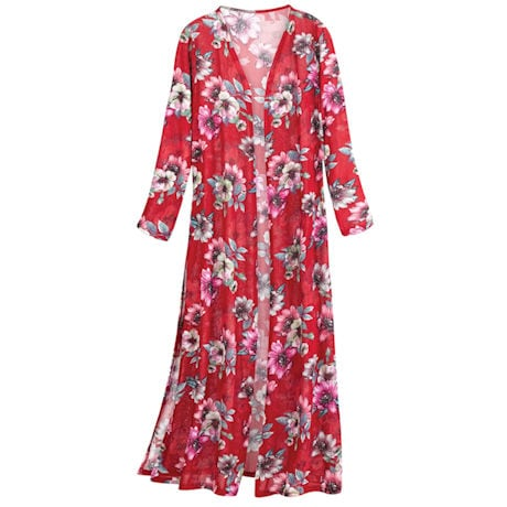 Wild Roses Duster