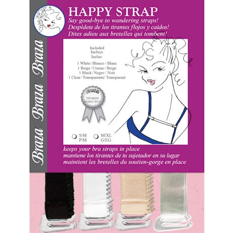 Braza® Happy Strap Quick Bra Fixes - 4 Pack