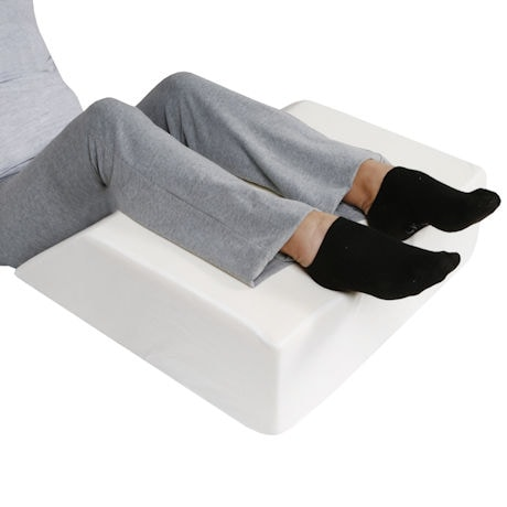 foter support memory foam pillow wedge leg explore sos