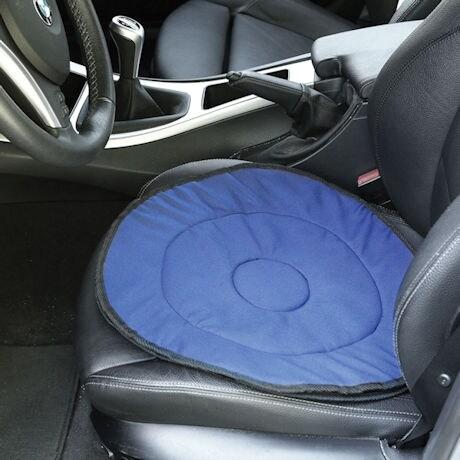 Car Cane Flashlight And Swivel Seat Cushion