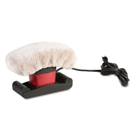 Jeanie Rub Massager Sheepskin Cover Only - Machine Washable Sheepskin Pad