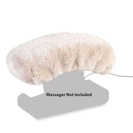 Jeanie Rub Massager Sheepskin Cover Only - Machine Washable Sheepskin Pad