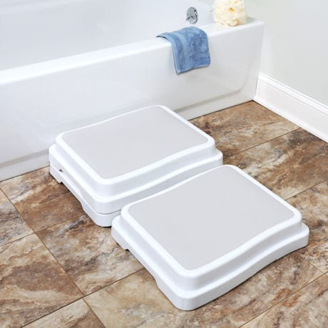 Support Plus® Stacking Bath Steps - Set of 3