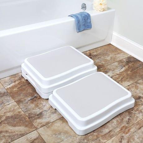 Stacking Bath Steps - Set of 3