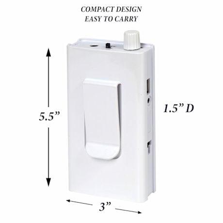 Support Plus® Portable Recharageable Electric Manicure/Pedicure Set